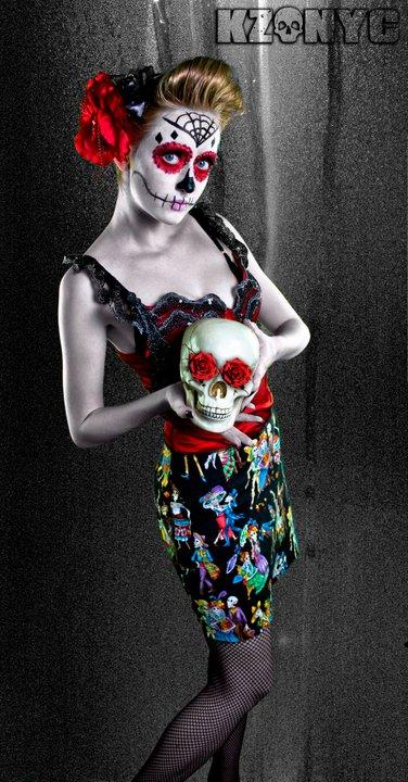 NY Aug 31, 2011 King Zombie Dia de Los Muertos