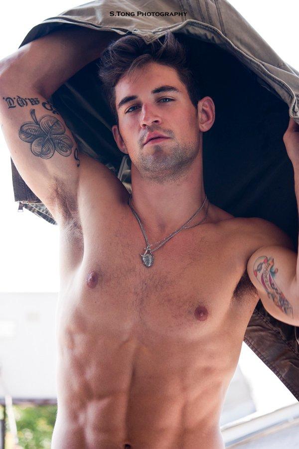 Male model photo shoot of Benjamin Godfre in Los Angeles, California