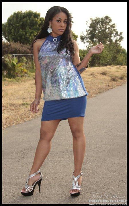San Diego Sep 04, 2011 OChea fashions Alisa