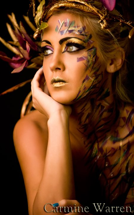 Jacksonville, Florida Sep 06, 2011 CW Images Makeup and bodypaint by Danelle