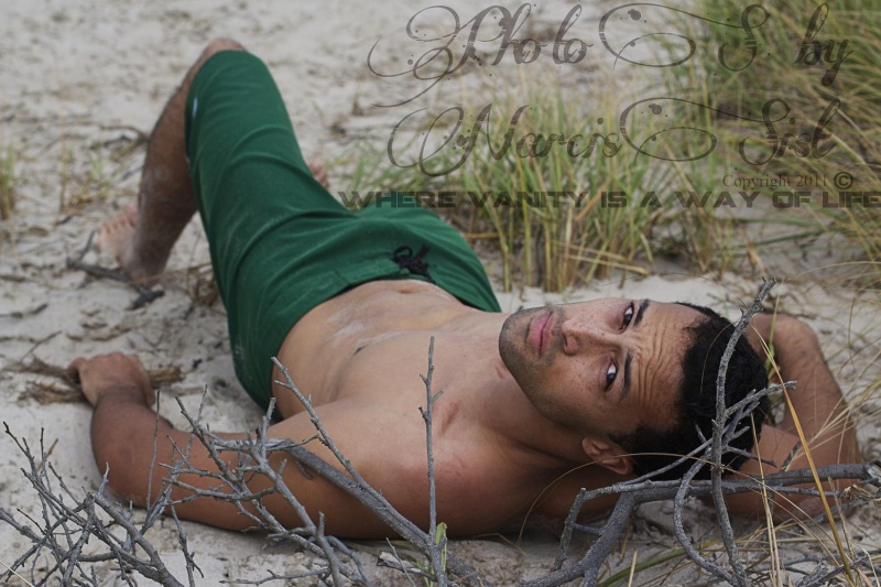 Male model photo shoot of Photos by Narcissist in Smithpoint Beach, Long Island