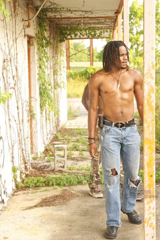 Male model photo shoot of Johnathan Green by LightBrushedImages