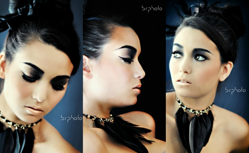 Female model photo shoot of Subculture and Marissa Hiroko in Lakewood, CA., retouched by MG Design