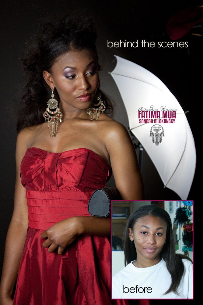 Female model photo shoot of Fatima MUA