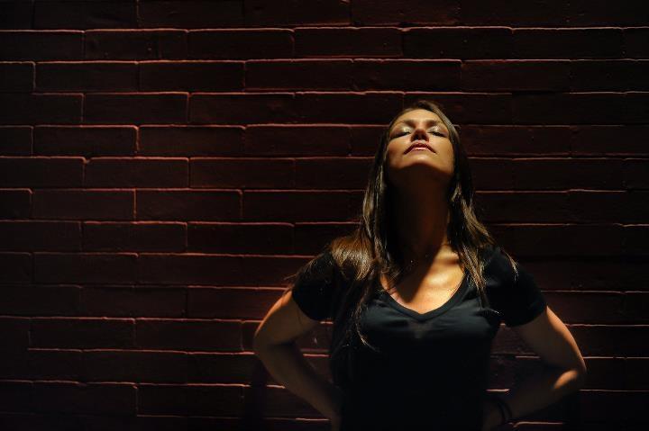 Female model photo shoot of KYM V by DannyU Photography in Hoboken, NJ
