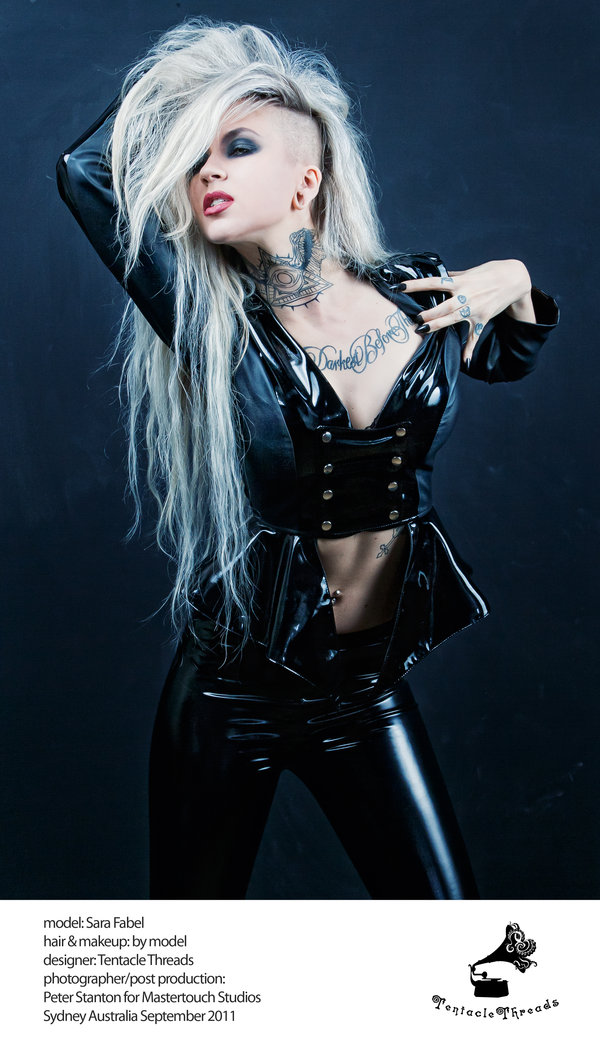 Mastertouch studios Sydney Sep 12, 2011 Mastertouch/Peter Stanton 2011 Invader - Sara Fabel for Tentacle threads