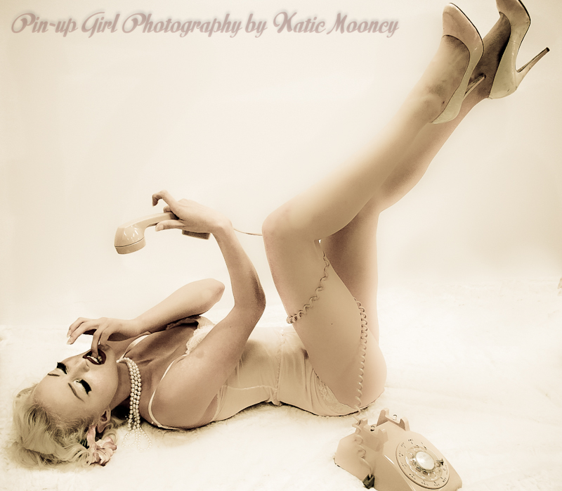 Studio, San Mateo, Ca. Sep 13, 2011 Pin-up Girl Photography by Katie Mooney Laura New