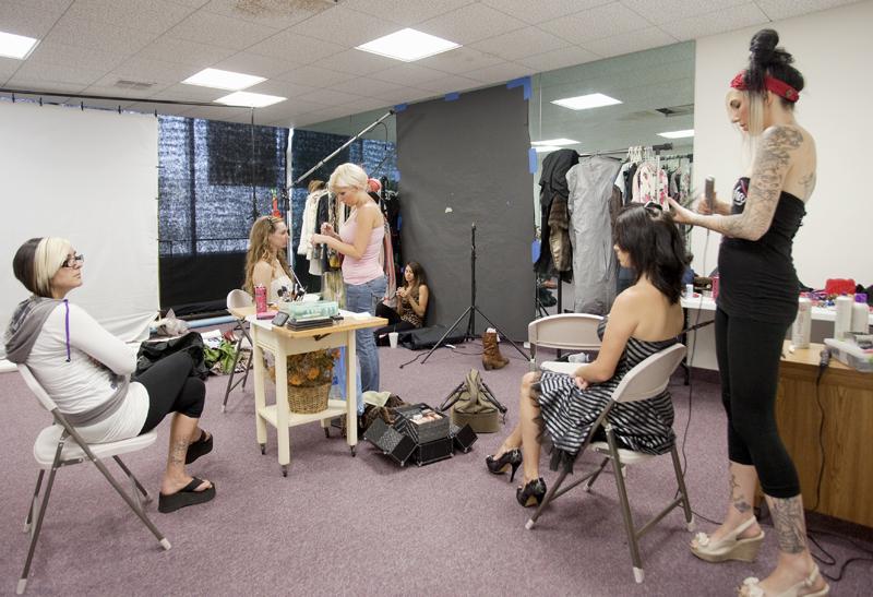 LA HABRA STUDIOS Sep 14, 2011 Makeup & Hair at La Habra Studios