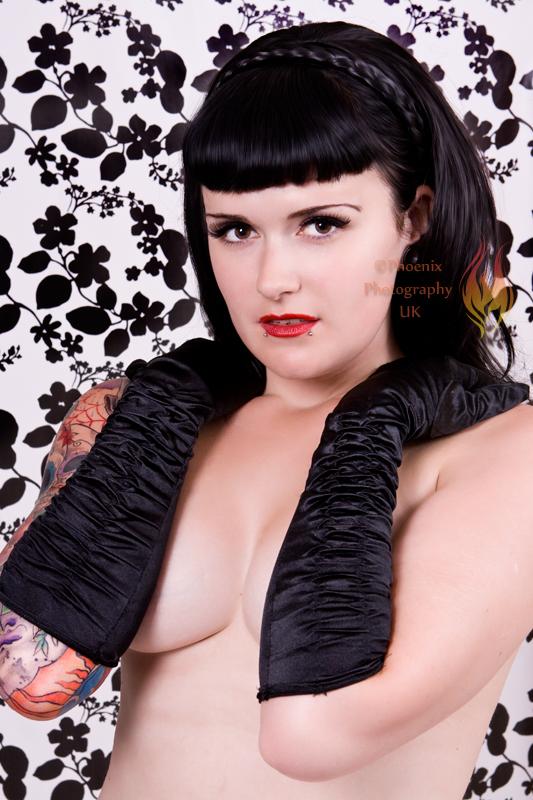 Male and Female model photo shoot of Phoenix Photography UK and Betty Havok