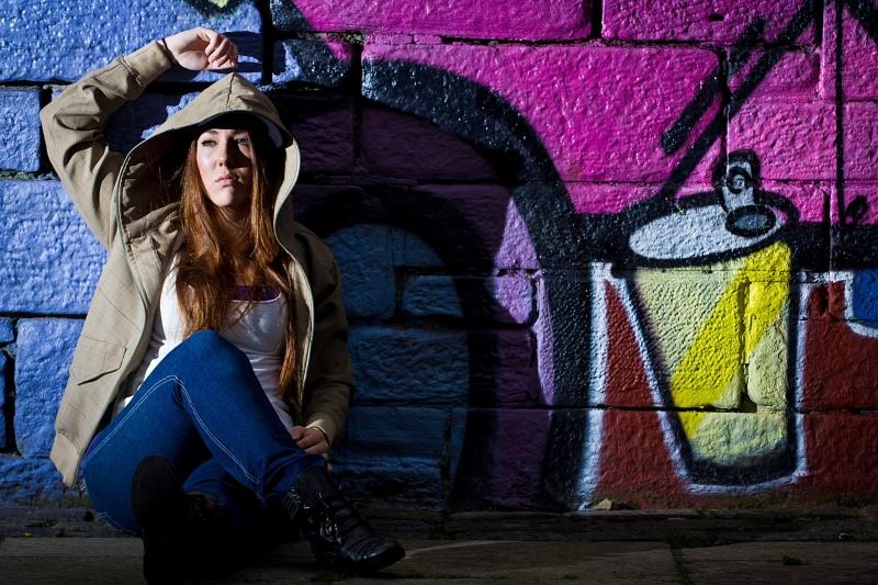 Female model photo shoot of Lisa Mackie by Robin Saunders