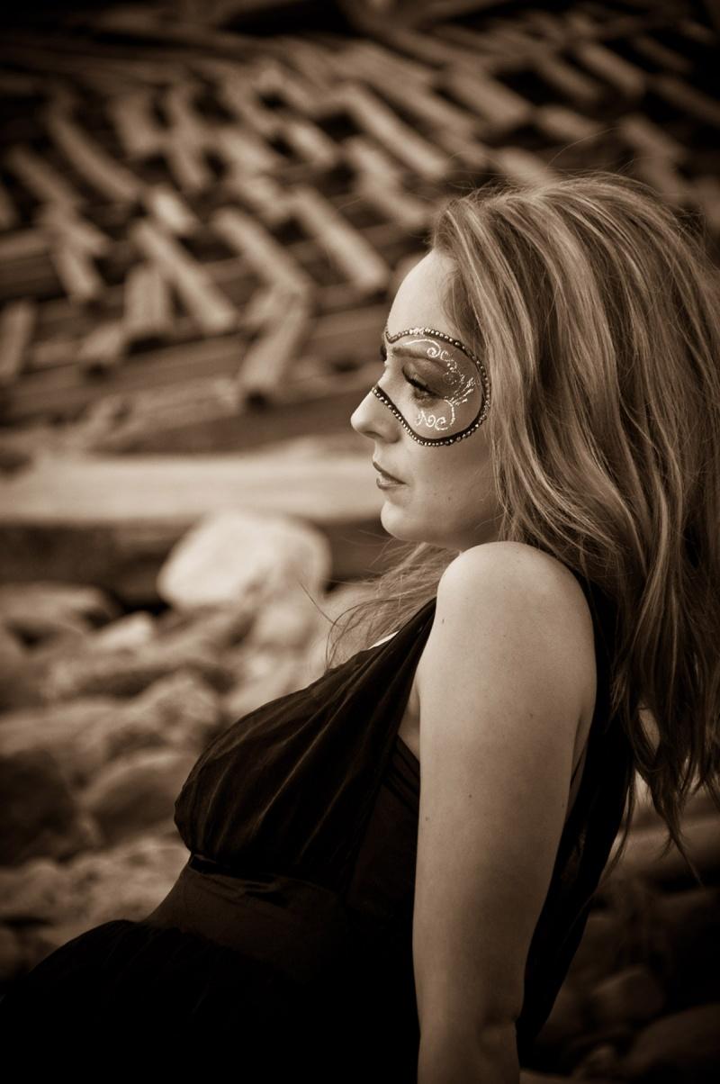 Female model photo shoot of Make up By Lin in Gordon Bay