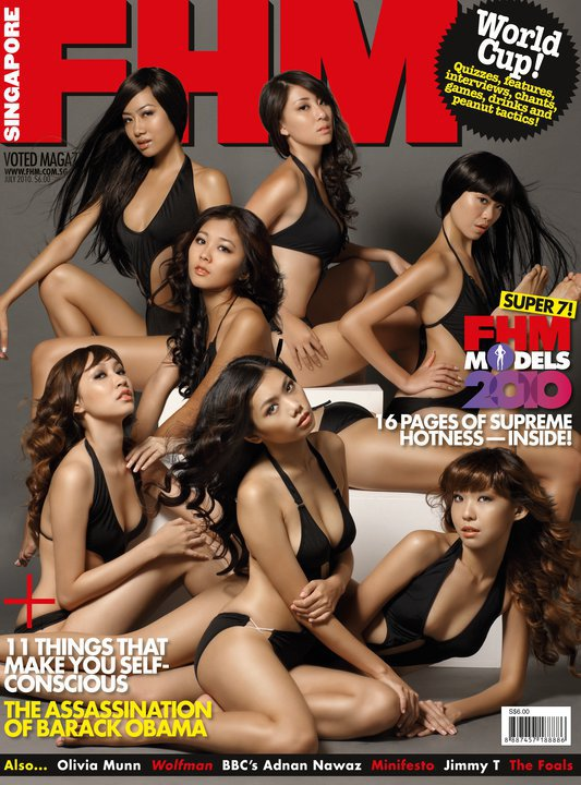 Singapore Sep 18, 2011 Fhm Singapore Cover Magazine