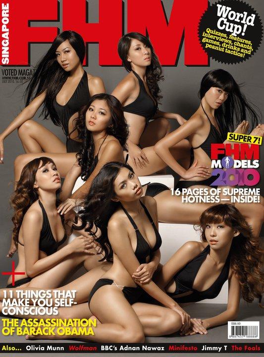Singapore Sep 18, 2011 Fhm Singapore Cover Magazine