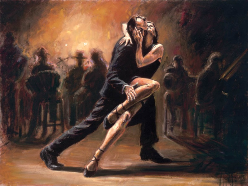 Sep 19, 2011 Fabian Perez Art Publishing, LLC Tango