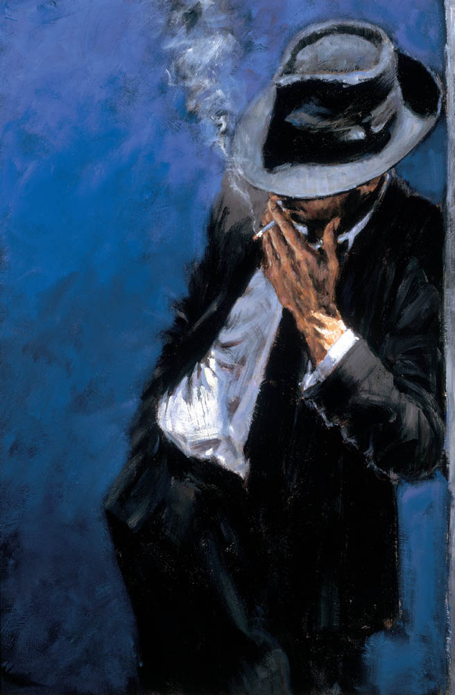 Sep 19, 2011 Fabian Perez Art Publishing, LLC Man in Black Suit