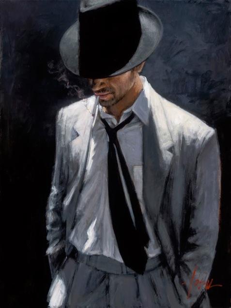 Sep 19, 2011 Fabian Perez Art Publishing, LLC Man in White Suit IV