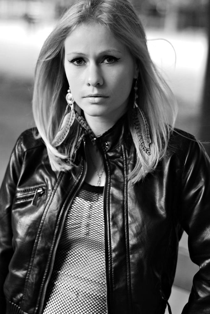 Female model photo shoot of Jeevane in Paris