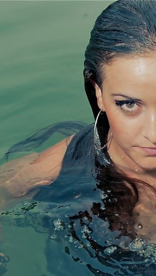under water photo shoot Sep 22, 2011 Me :)
