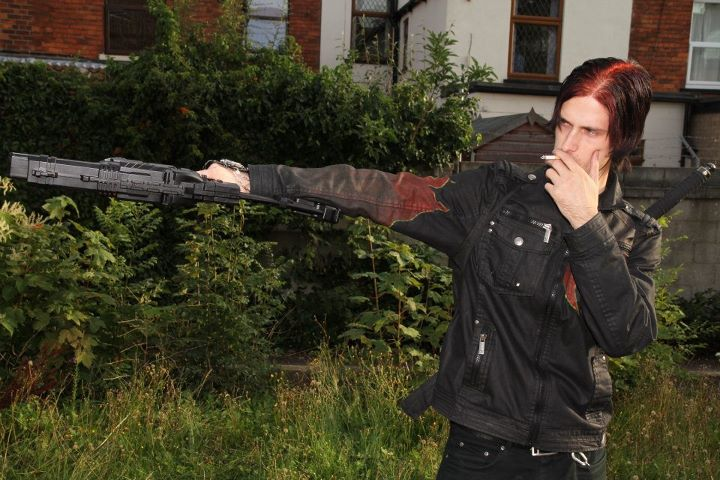 Male model photo shoot of Lex Leinhart Drago in Hull