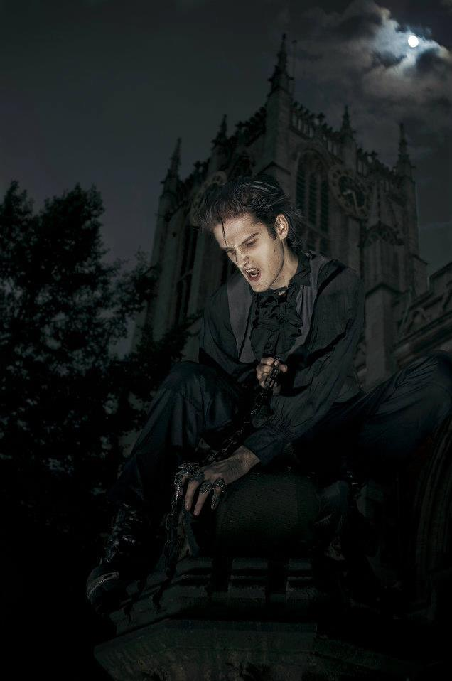 Male model photo shoot of Lex Leinhart Drago in Holy Trinity Church