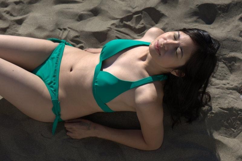 Female model photo shoot of Lara Marie by November Light in San Francisco, CA