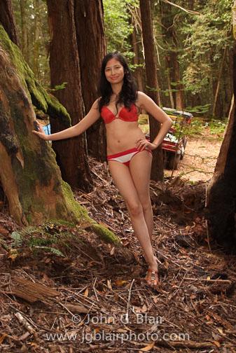 Female model photo shoot of Lara Marie by John G Blair Studio in Occidental, CA