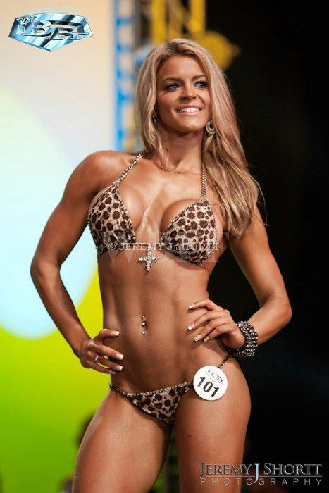TORNOTO Sep 27, 2011 WBFF 1st Place and PRO CARD WINNER