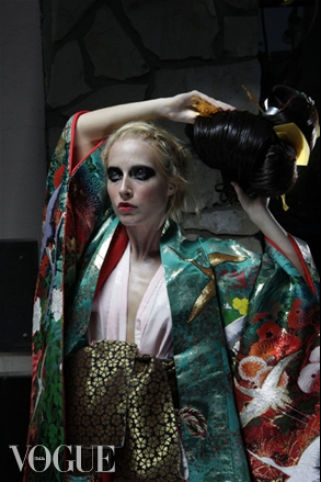 Little Tokyo, LA CA Sep 27, 2011 bj formento janelle as geisha