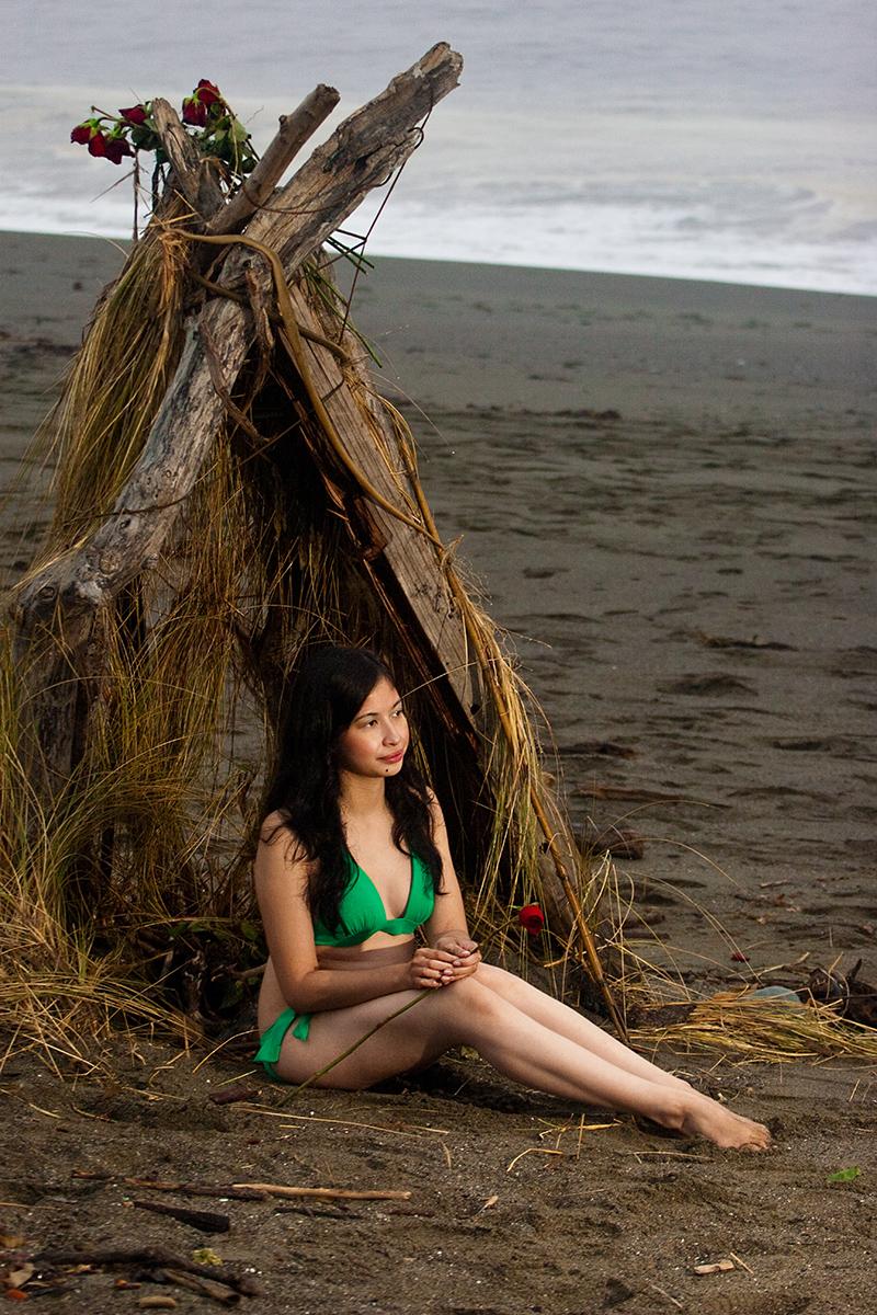 Female model photo shoot of Lara Marie by West coast photography