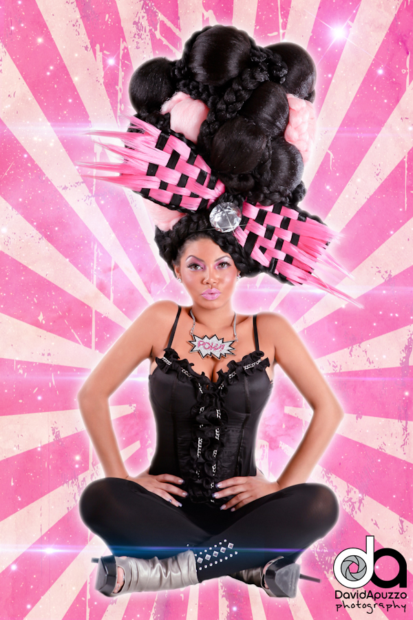 Oct 02, 2011 David Apuzzo Photography Niki Minaj Inspired Fantasy Hair Piece