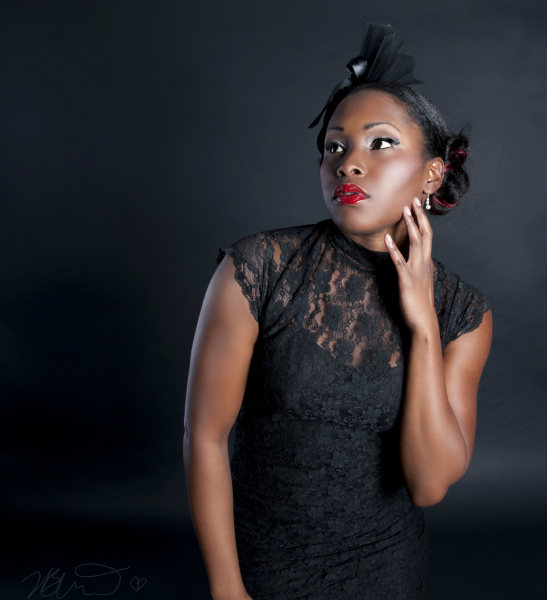 Female model photo shoot of B L I T H E and SerenaTC, makeup by ChianiMakeup