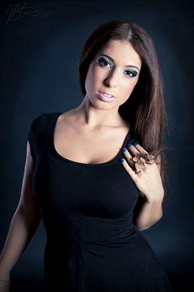 Female model photo shoot of B L I T H E, makeup by ChianiMakeup