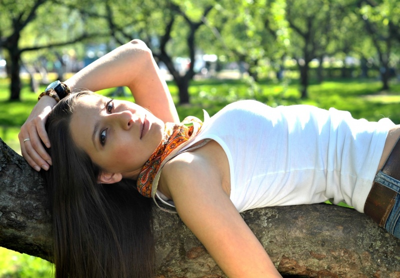 Female model photo shoot of Karina Tambovtseva