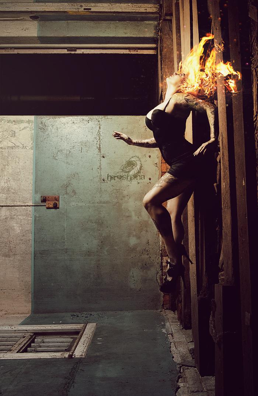 Brisbane, QLD ~ Australia Oct 10, 2011 Hiroshima Photography & India Rose A fire Inside. MUA: Fanny Barlow