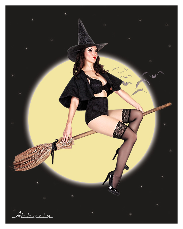 Oct 12, 2011 Al Abbazia Sexy Witch (Concept Shot of the Day Winner, Damned Art of the Day Winner)