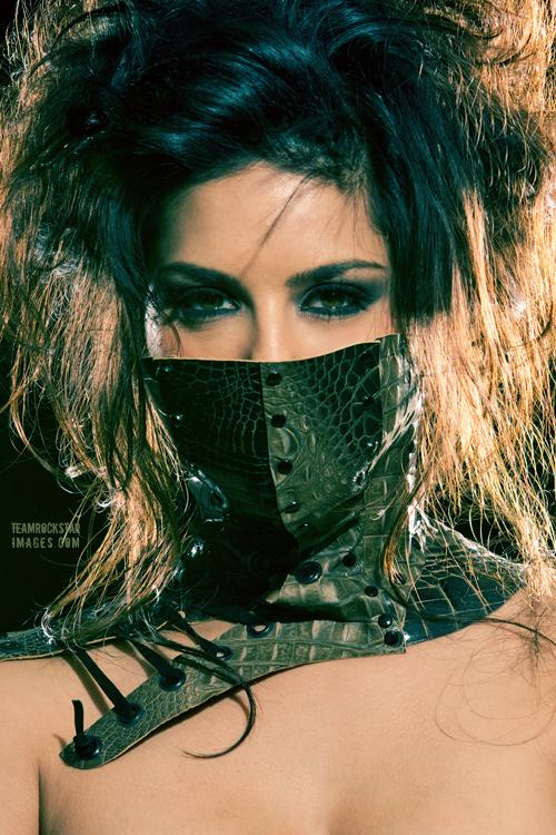 Los Angeles Oct 14, 2011 teamrockstarimages 2011 Sunny Leone - Mask