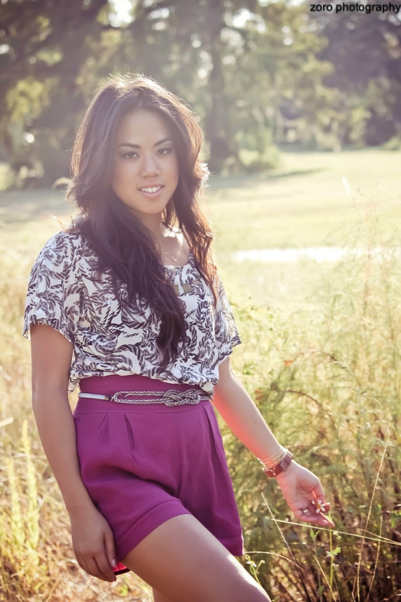 Female model photo shoot of zoro photography