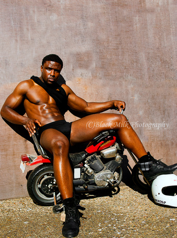 Male model photo shoot of gus a by Black Milk Photography