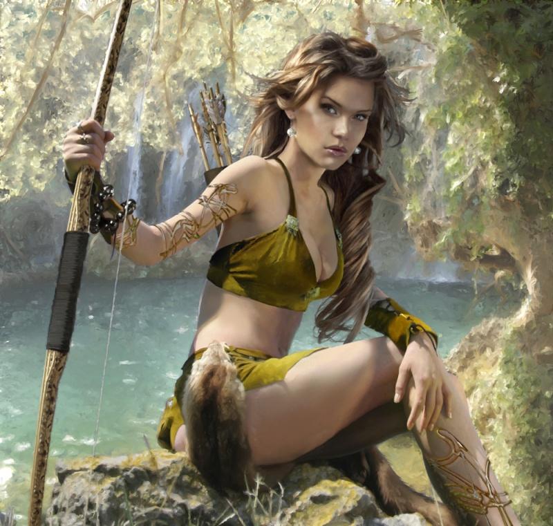 Oct 17, 2011 Elven Archer - Fantasy Gaming Image