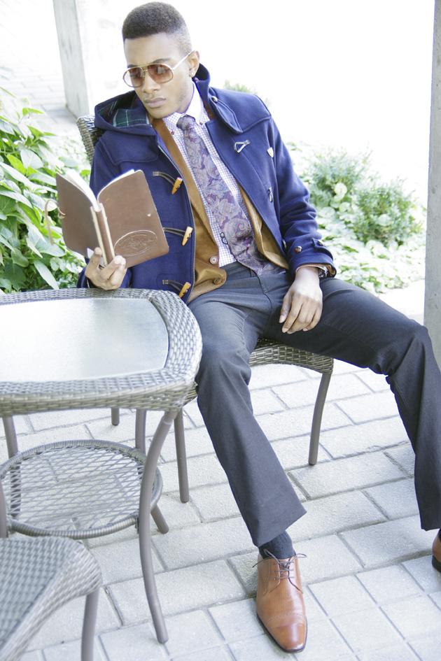 Male model photo shoot of YINKA BODE-GEORGE