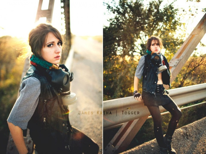 Female model photo shoot of Christina Marie Leonard by K R I H A
