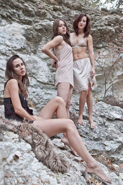 Female model photo shoot of Mischa Fruge, Nancepants and Rachel Vest by raphael i