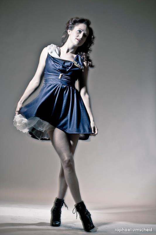Female model photo shoot of Mischa Fruge and Nancepants by raphael i
