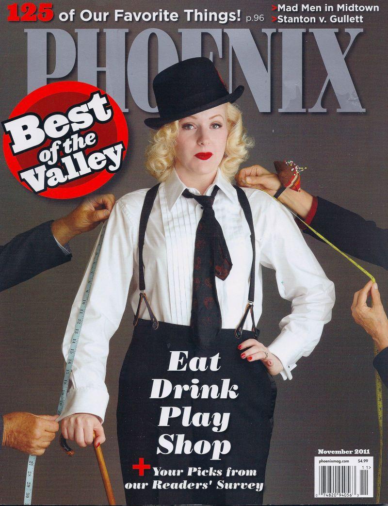Oct 19, 2011 2011 David Zickl Best of Phoenix Magazine November 2011