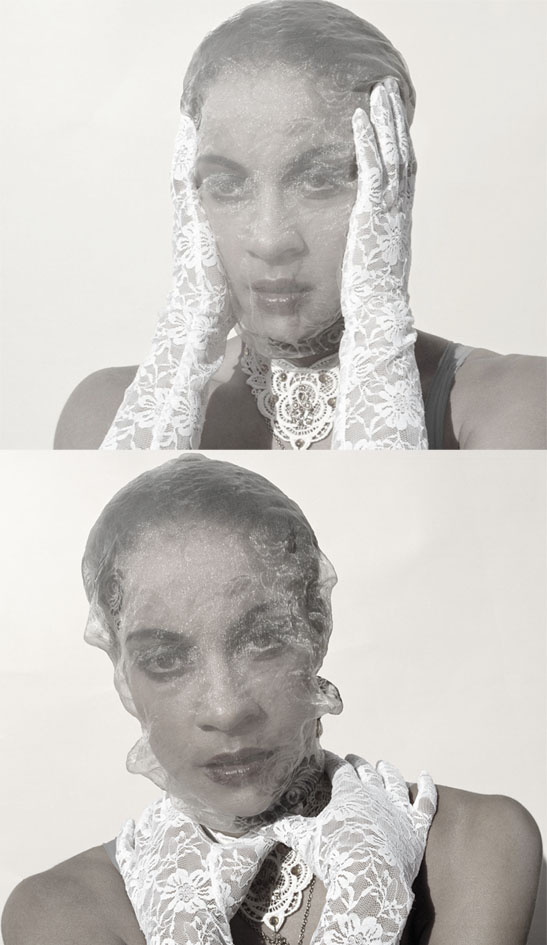 Male and Female model photo shoot of Sammy Photography and L okadigbo in SamaleAhmed, makeup by yuko murakami