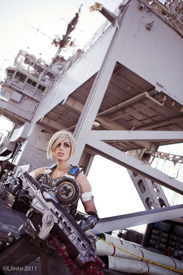 Oct 21, 2011 Costume: Meagan Marie, Makeup: Hydred Makabali, Photos: LJinto Anya Stroud/Gears of War Cosplay