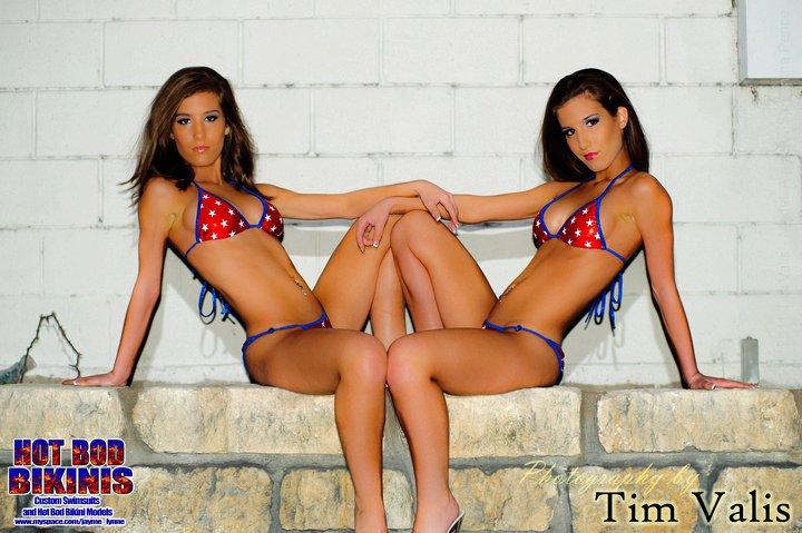Female model photo shoot of The Samber Twins