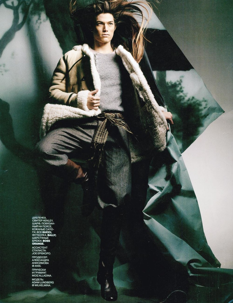 NYC Oct 23, 2011 Joshua Jordan Russian GQ