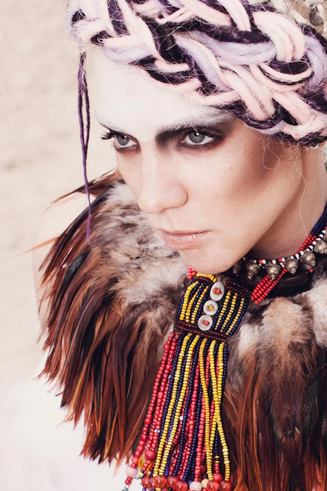 Female model photo shoot of Anniek Vermeulen by dashdot