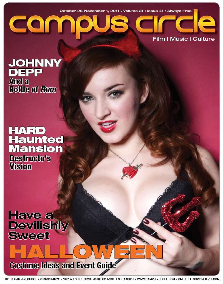 Oct 25, 2011 Campus Circle COVER, MUAH: Me